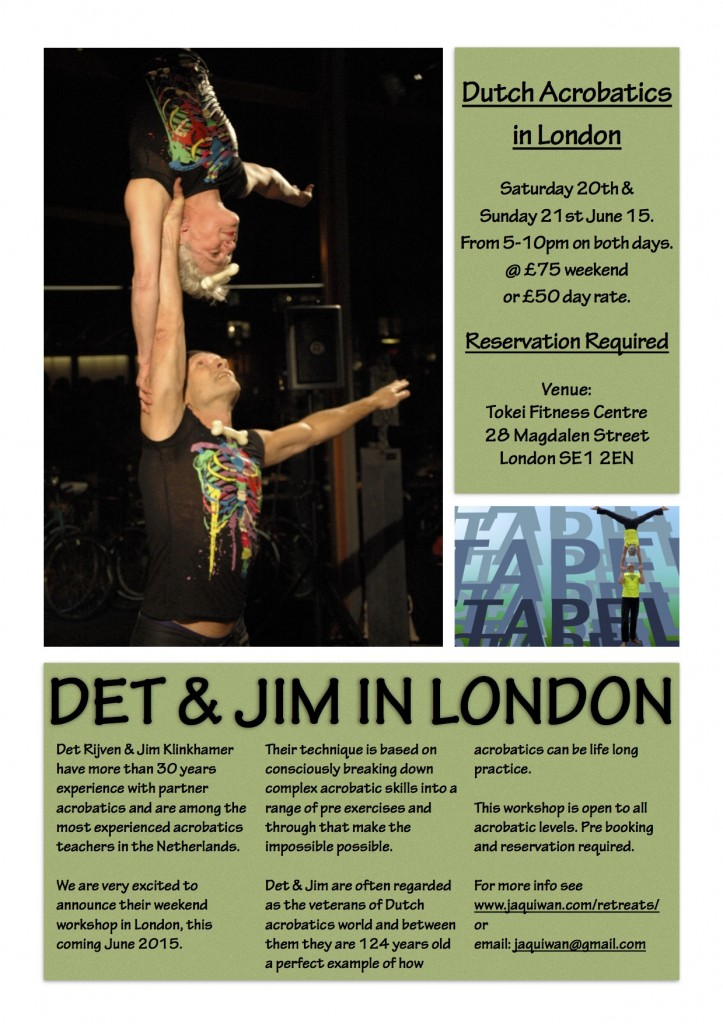 Det & Jim flyer